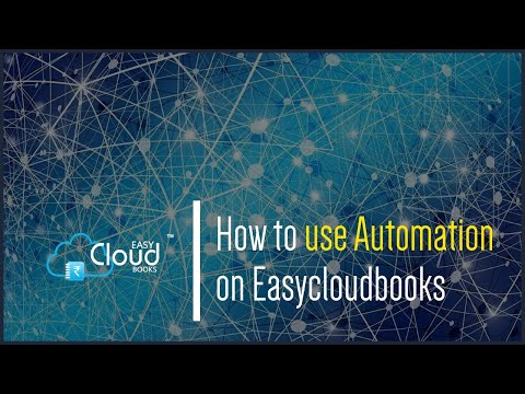 How to use Automation on easycloudbooks?