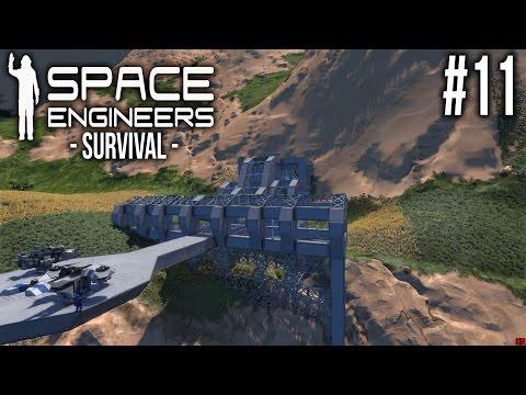 Space Engineers SURVIVAL Ep 11 - SECRET BASE?!