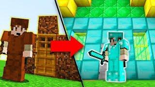 ZENGİN VS FAKİR HAYATI #1 - Minecraft