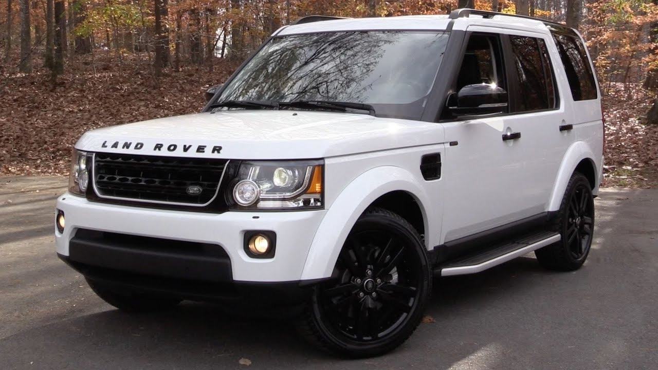 2016 Land Rover LR4 HSE Lux (Discovery) Start Up, Road Test, and In ...