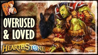 TOP 10 OVERUSED Cards NOBODY Hates! - Rise of Shadows Hearthstone
