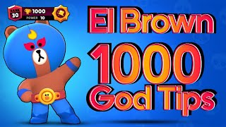 1000 ! El Brown ! Primo ! God Tips ! Brawl Stars ! 熊大普里莫!神級攻略!荒野亂鬥!