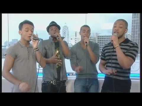 JLS perform 'Close To You' in the GMTV live Lounge!