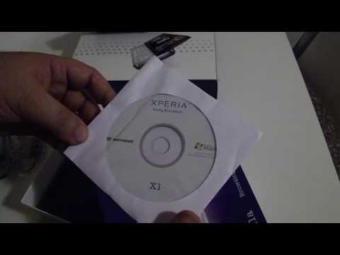 Unboxing Sony Ericsson Xperia X1