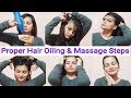 SALON STYLE Proper Hair Oiling With Easy Massage Steps In Hindi|AlwaysPrettyUseful