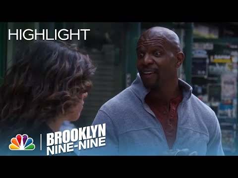 Terry Suggests Rosa Continue To Date | Season 5 Ep. 22 | BROOKLYN NINE-NINE