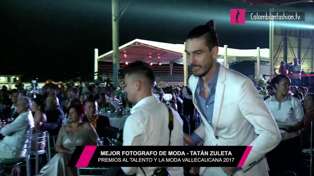 Mejor fotógrafo de moda   Tatán Zuleta - Premios al Talento y la Moda Vallecaucana