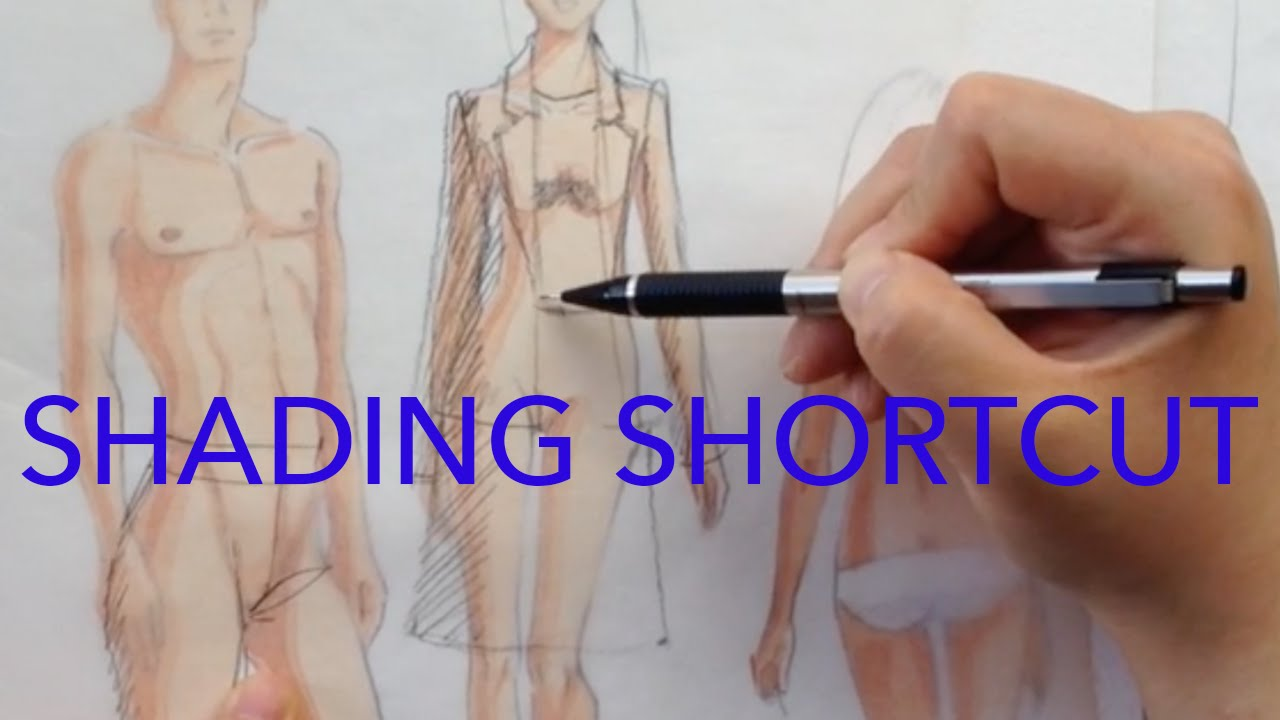 Making Your Fashion Figures 3D With Shadows   YouTube Making Your Fashion Figures 3D With Shadows