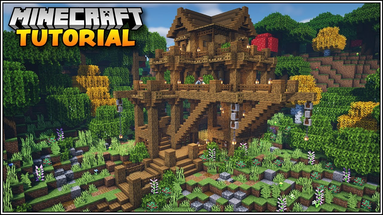 Minecraft: How to Build a Survival Base Tutorial