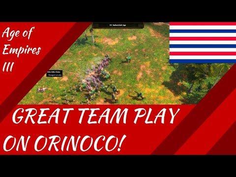 Great Team Play on Orinoco! AoE III