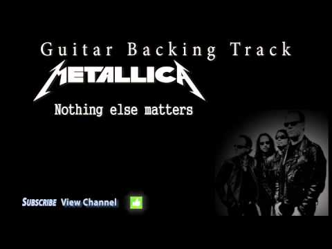Metallica - Nothing else matters (Guitar Backing Track)