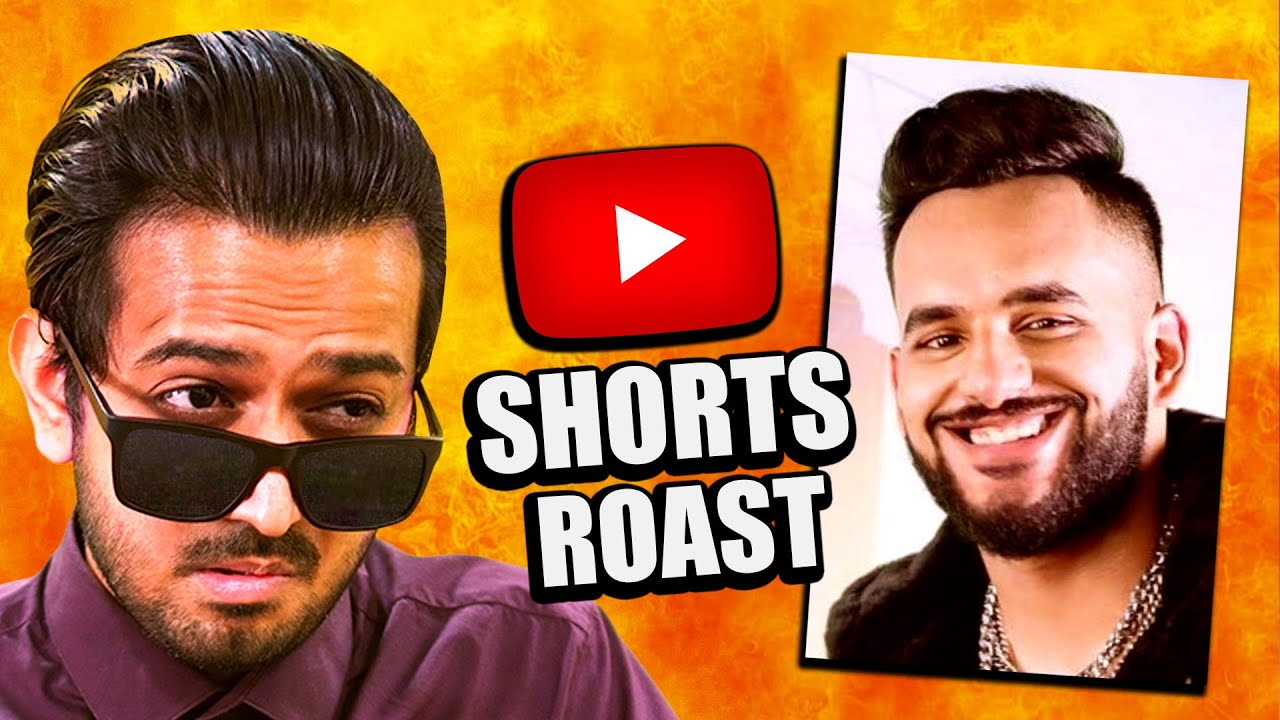 YouTube Shorts ROAST by FUKRA INSAAN 🔥