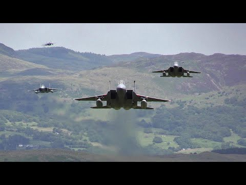Maxwell and Friends Blog - Low Flying F-15Cs!