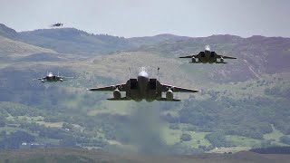 "F-15C ""Grim Reapers"",  Low Level Mach-Loop"
