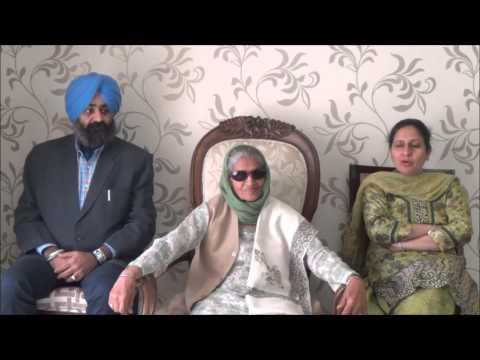 Interview with Prof. Kuldip Kaur Kalyan... Vice Principal Retd. DAV College, Nabha