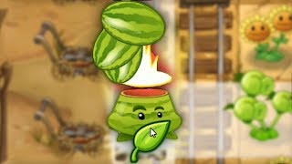 CATA-MELON + ENGRAIS = CARNAGE | Plantes vs Zombies 2 #16