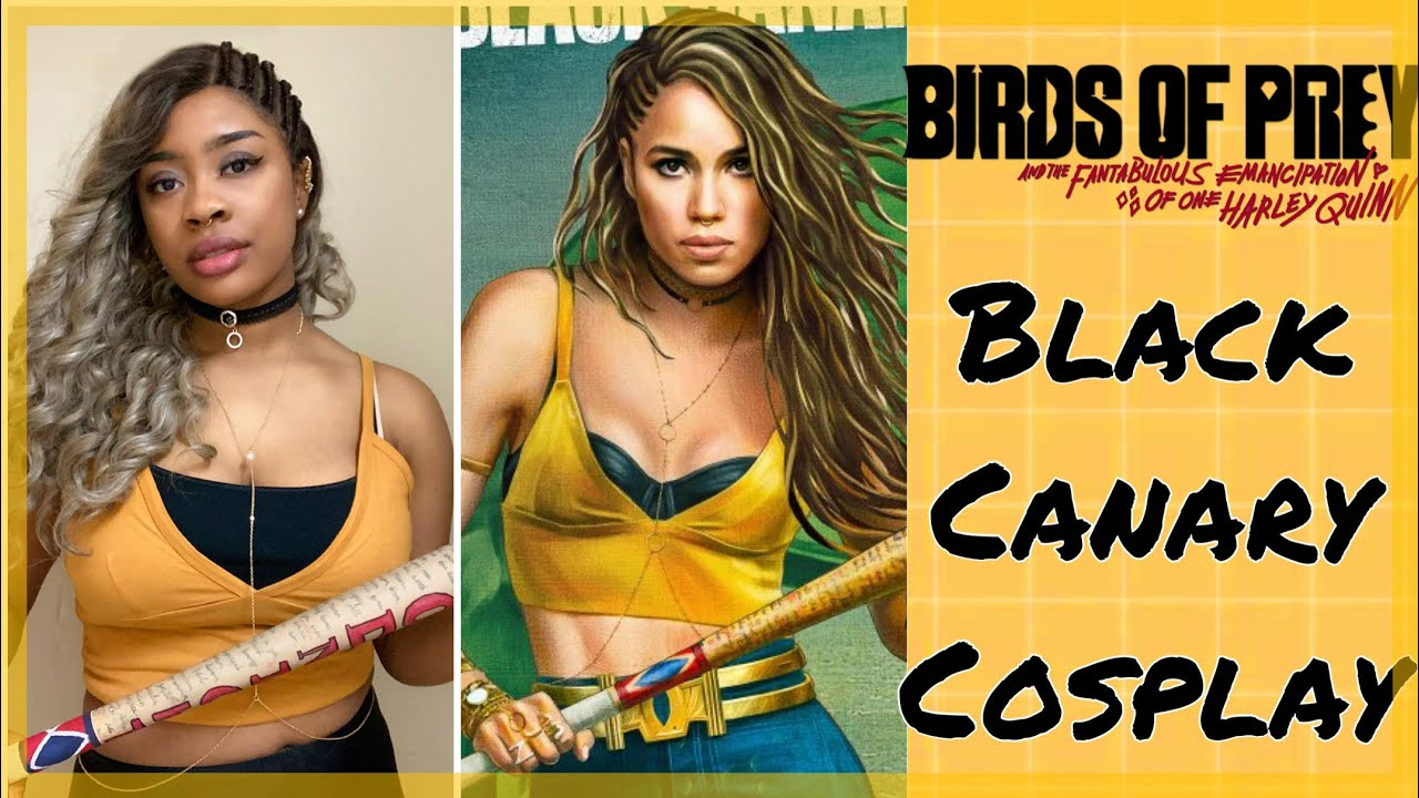 Birds Of Prey Black Canary Cosplay Diy Youtube