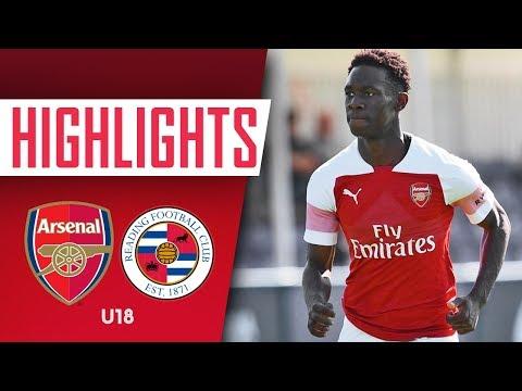GOALS & HIGHLIGHTS |  Arsenal 4 - 2 Reading U18s