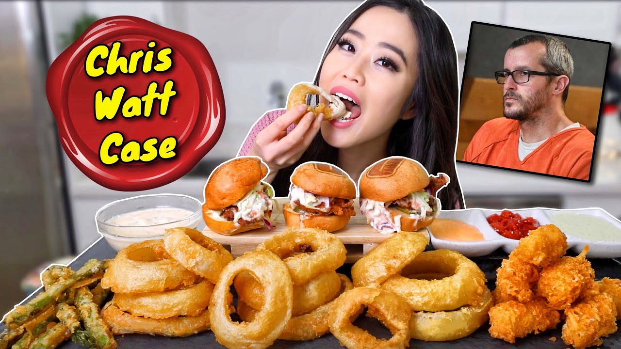 Cheesy Fried Onion Rings Cheesy Tots Fried Chicken Burgers Mukbang Eating Show