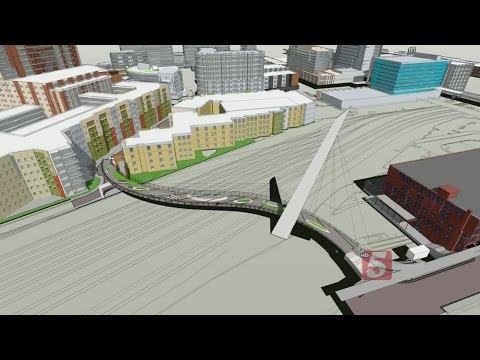 Gulch-SoBro Pedestrian Bridge Closer To Becoming Reality
