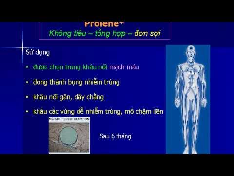 Bài giảng Phẫu thuật thực hành Chỉ và Kim phẫu thuật