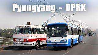 PYONGYANG TROLLEYBUS - Der O-Bus in Pyongyang (19.-25.04.2014)
