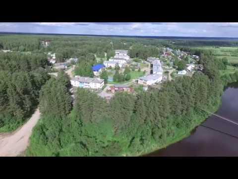 село Никольск, Вилегодский район, июнь 2019 года