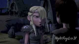 Astrid Won't Say She's iฑ Love With Hiccup
