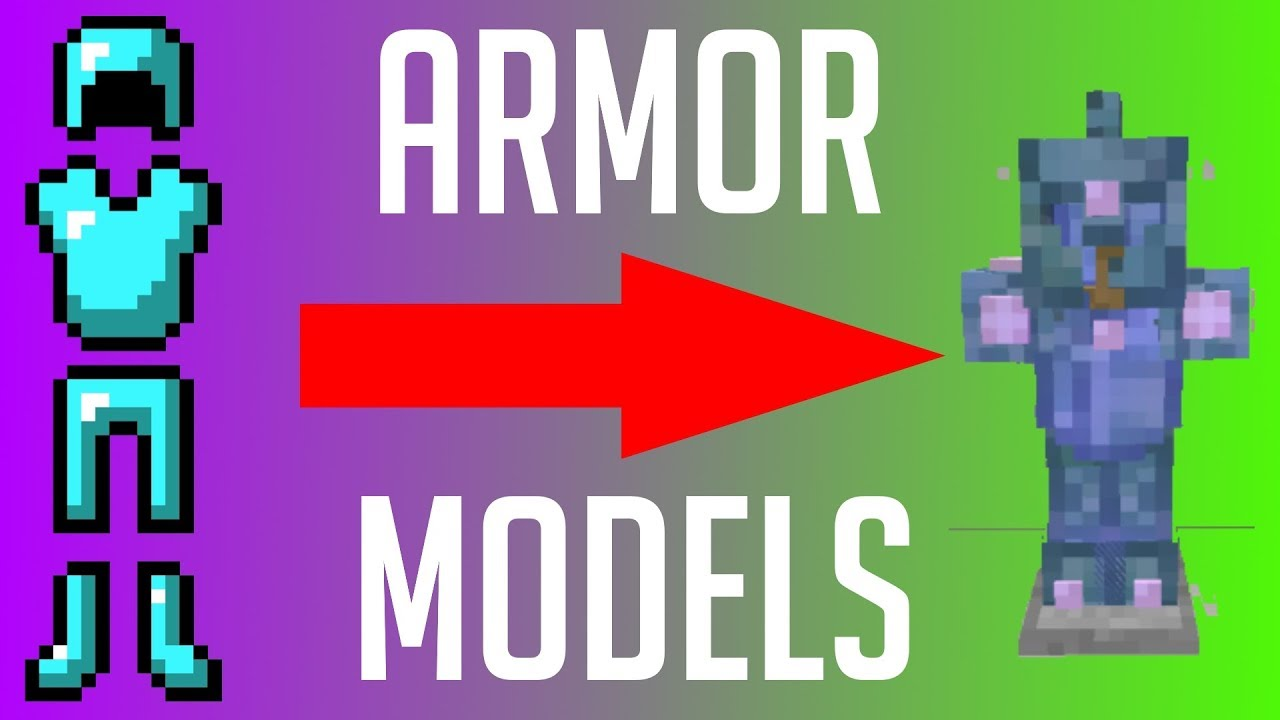 Custom Armor Models - Minecraft Modding Tutorial 1 12 2 - Episode 37