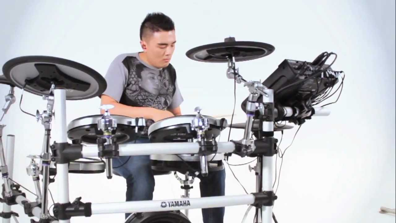 yamaha dtx900k drums featuring er chow kiat youtube