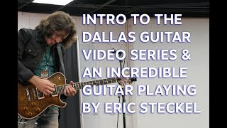 Dallas Guitar Show Intro s and Eric Steckel Blues Rock Playing   tonymckenziecom
