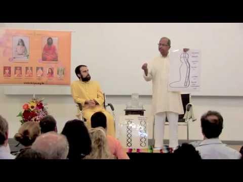 Palestra Suresh Baba, no ICC Indian Cultural Centre 10/2014