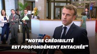 Le coup de gueule de Macron au sommet européen