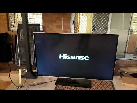 Hisense TV,To fix the Logo Stuck on the Srceen - YouTube
