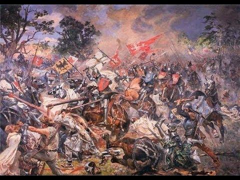 Славянские рыцари Грюнвальдской битвы.