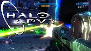 Closest Thing to Halo Anniversary on PC?! - Halo SPV3 First Impressions!