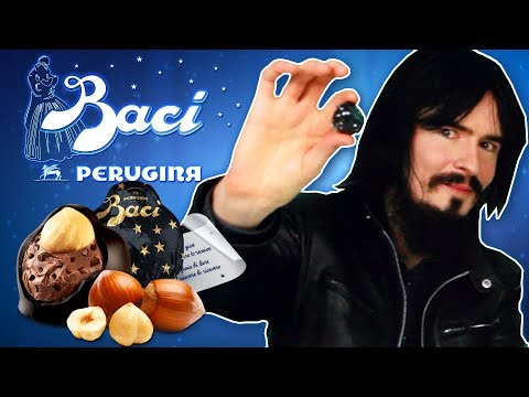 Irish People Try Baci Chocolate