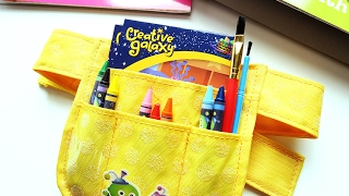 Creative Galaxy Arty's Tool Belt Unboxing & DIY Valentine Pop Up Card