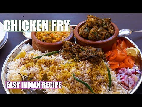 Chicken Fry - Indian Fried Chicken - Fried Chicken - Spicy Fried Chicken - Indian Chicken Recipes