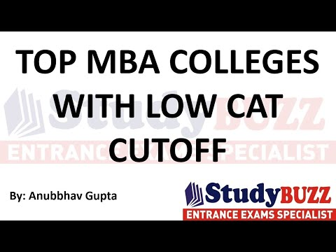 Top MBA colleges with low CAT cutoffs   MBA colleges between 70-85 percentile range