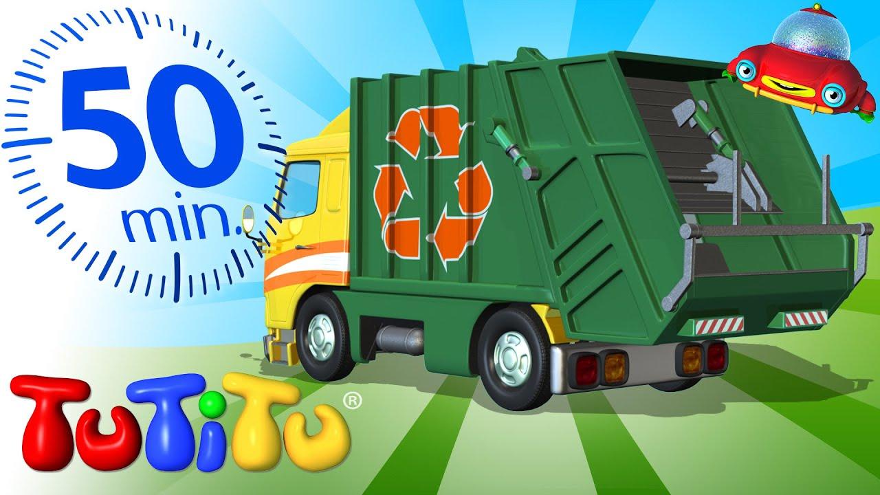 Camion Della Spazzatura E Altri Giochi Educativi Compilazione Per 50 Minuti Youtube