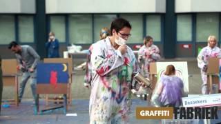 graffiti-fabriek - gastouderuitje Kober Breda
