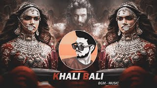 Khali Bali - BGM Mix - Dj SiD Jhansi (Feat. Akash Beats)   Padmaavat   Dialogue Trap