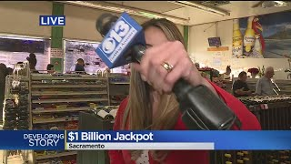 Mega Millions Hits $1 Billion, Drawing Large Crowds Searching For Tickets