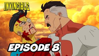 Invincible Episode 8 Finale - Invincible vs Omni Man TOP 10 Breakdown and Ending Explained