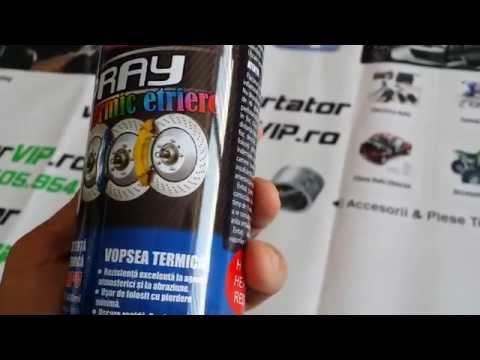 Spray vopsea etriere termorezistent 800 grade - www.Motorvip.ro 0748405954