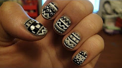 Original: Fair Isle/ Tribal Nails