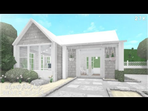 Bloxburg | Cheap Starter Beach House Speed Build