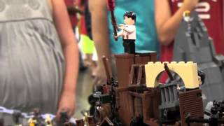 Lego Les Miserables The Barricade MOC