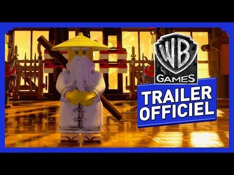 LEGO NINJAGO, le film : le jeu vidéo - Trailer Officiel streaming vf